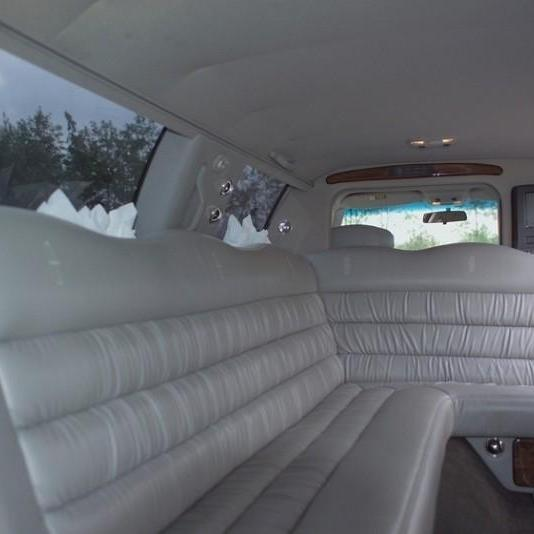 Lincoln limo interieur